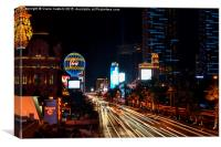 The Las Vegas Strip, Canvas Print