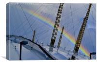 Somewhere over the rainbow , Canvas Print