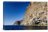 Los Gigantes Cliffs in Tenerife, Canvas Print