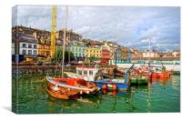 Cobh Town in Ireland, Canvas Print