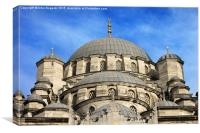 New Mosque in Istanbul, Canvas Print