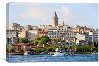Istanbul Skyline, Canvas Print
