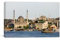 City of Istanbul, Canvas Print