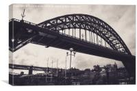 Tyne Bridge - Newcastle, Canvas Print