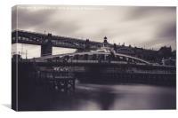 Swing Bridge - Newcastle, Canvas Print