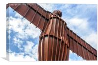 The Angel of the North, Gateshead, Canvas Print