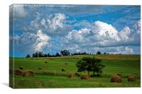 Lovely English Countryside , Canvas Print