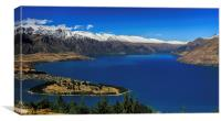 The Remarkables, Canvas Print