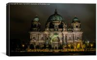 Berliner Dom, Canvas Print