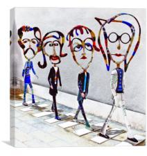 Beatles Artwork, Canvas Print