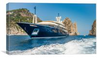 Capri Yacht, Canvas Print