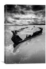 The Sunbeam Shipwreck, Canvas Print