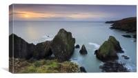 Nohoval Cove Sunrise, Canvas Print