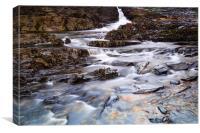 Stream to the Sea, Canvas Print