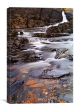 Nohoval Cove Stream, Canvas Print