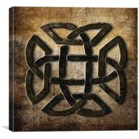Celtic Metalwork, Canvas Print