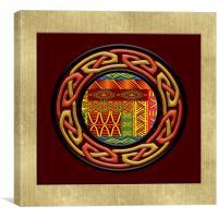 Tribal Celt Nsomba, Canvas Print