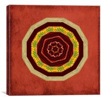 Tribal Celt Mandala #2, Canvas Print