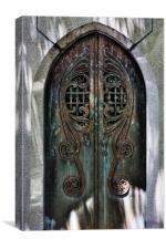 Entry To Empyrean, Canvas Print