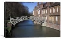 The Mathematical Bridge, Canvas Print