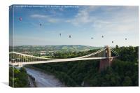 Bristol Balloon Fiesta 2015., Canvas Print