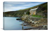 Port Quin, Canvas Print
