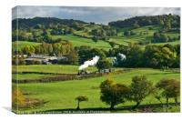A run down Welshpool & Llanfair Railway, Canvas Print