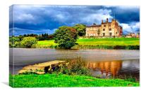 RIPLEY CASTLE, Canvas Print