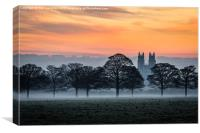 Beverley Minster, Canvas Print