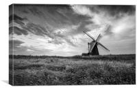 Herringfleet Windmill, Suffolk, Canvas Print
