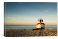 Rebecca of Dungeness, Canvas Print
