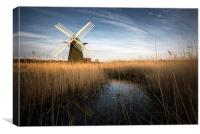 Herringfleet, Suffolk, Canvas Print