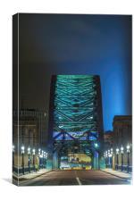 The Tyne Bridge, Canvas Print