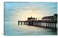 The Pier, Canvas Print