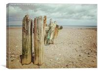 Sandsend Bay, Canvas Print
