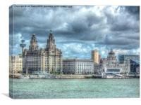 The 3 Graces, Canvas Print