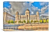 A Liverpool Grace, Canvas Print