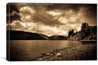 Lake Vyrnwy, Wales, Canvas Print