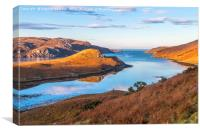 Loch Inchard Scotland, Canvas Print