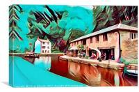 The Wharf, Canvas Print