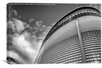 Next building in Exeter, Canvas Print