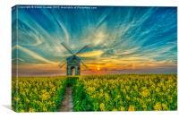 Chesterton Windmill, Canvas Print