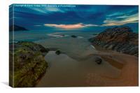 Fistral Beach, Canvas Print