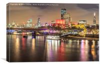 The Shard and St Paul's Cathedral, Canvas Print