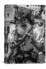 Pirates of Torbay, Canvas Print