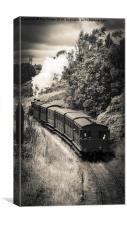 Steam Age, Canvas Print
