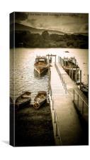 Onto Derwent Water, Canvas Print