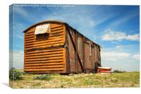 Shack in Dungeness, Canvas Print