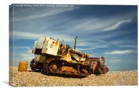 Dungeness Digger, Canvas Print