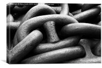 Chain Links, Canvas Print